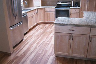 Kitchen Project completed by Floors & More Abbey Flooring