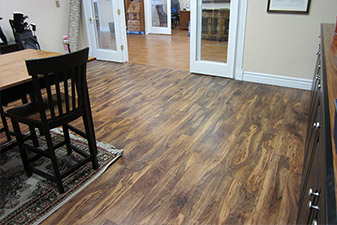 Commercial Project completed by Floors & More Abbey Flooring